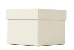 White box, closeup Royalty Free Stock Images