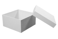White box package Stock Image