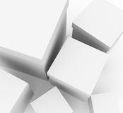 White boxes Royalty Free Stock Images