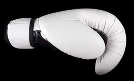 White boxing-gloves Royalty Free Stock Image