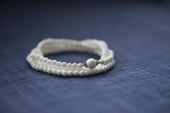 White Bracelet Stock Photo