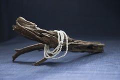 White Bracelet Royalty Free Stock Photos