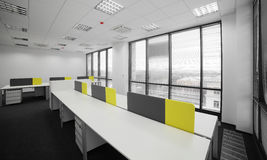 White brand new interior of office Royalty Free Stock Photography