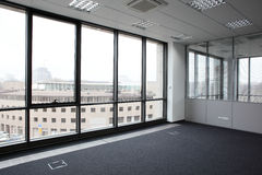 White brand new interior of office Royalty Free Stock Photos