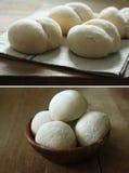 White Bread. Handmade healthy and delicious white bread Stock Photo