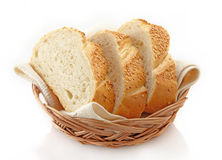 White bread Stock Image