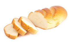 White bread Royalty Free Stock Photography