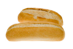 White bread bun Stock Photography