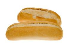 White bread bun Stock Photography