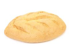 White bread of corn meal Royalty Free Stock Photography