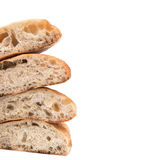 White bread cutted Stock Image