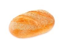 White bread isolated on white. Background Stock Image