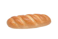 White bread long loaf Stock Images
