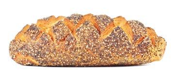 White Bread With Poppy Royalty Free Stock Photo