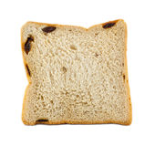 White bread with raisin Royalty Free Stock Photos