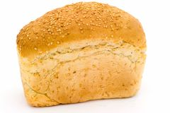 White bread with sesame Stock Images