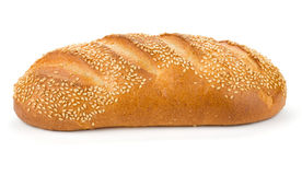 White bread with sesame Royalty Free Stock Image
