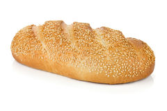White bread with sesame Stock Photo