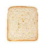White bread slice Stock Images