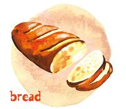 White bread Stock Photography
