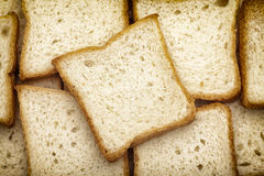 White bread slices Royalty Free Stock Photo