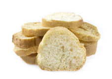 White bread slices Stock Photography