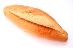 White bread. Some fresh white bread on a white background Royalty Free Stock Photography