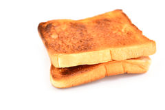 White bread toast Stock Image