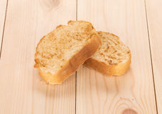White bread toast. Royalty Free Stock Images