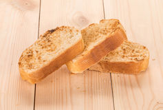 White bread toasted. Stock Image