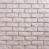 White brick background pattern Royalty Free Stock Photos