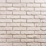 White brick background pattern Stock Photo