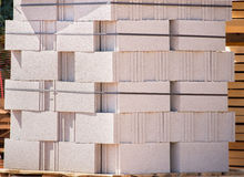 White brick for construction Royalty Free Stock Photo