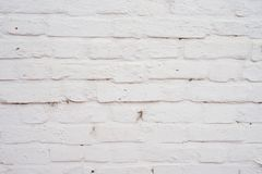 White brick stone blocks wall background and texture. royalty free stock photography