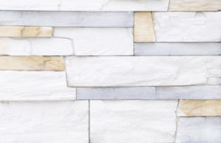 White brick stone wall background Stock Image