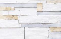 White brick stone wall background stock image