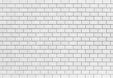 White brick stone wall Stock Photography
