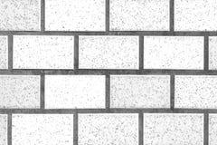 White brick stone wall Royalty Free Stock Image
