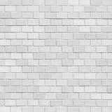 White brick stone wall Royalty Free Stock Photo