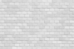 White brick stone wall seamless background Stock Photos