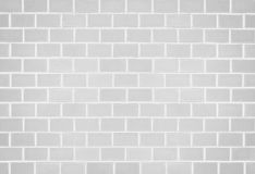 White brick stone wall seamless background Royalty Free Stock Image