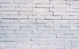 White brick texture Royalty Free Stock Image