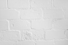 White brick wall. Texture for background use Stock Images