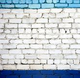 A white brick wall Royalty Free Stock Image