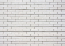 White brick wall royalty free stock images