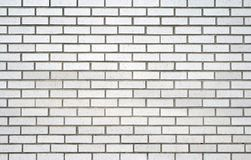 White brick wall. Brickwork. Detail of a white brick wall stock images