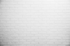 White brick wall. Background photo Royalty Free Stock Photography