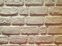 White Brick. Wall royalty free stock photo