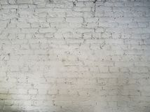 Dirty white brick wall background stock images