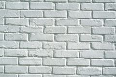 White brick wall background Stock Photo